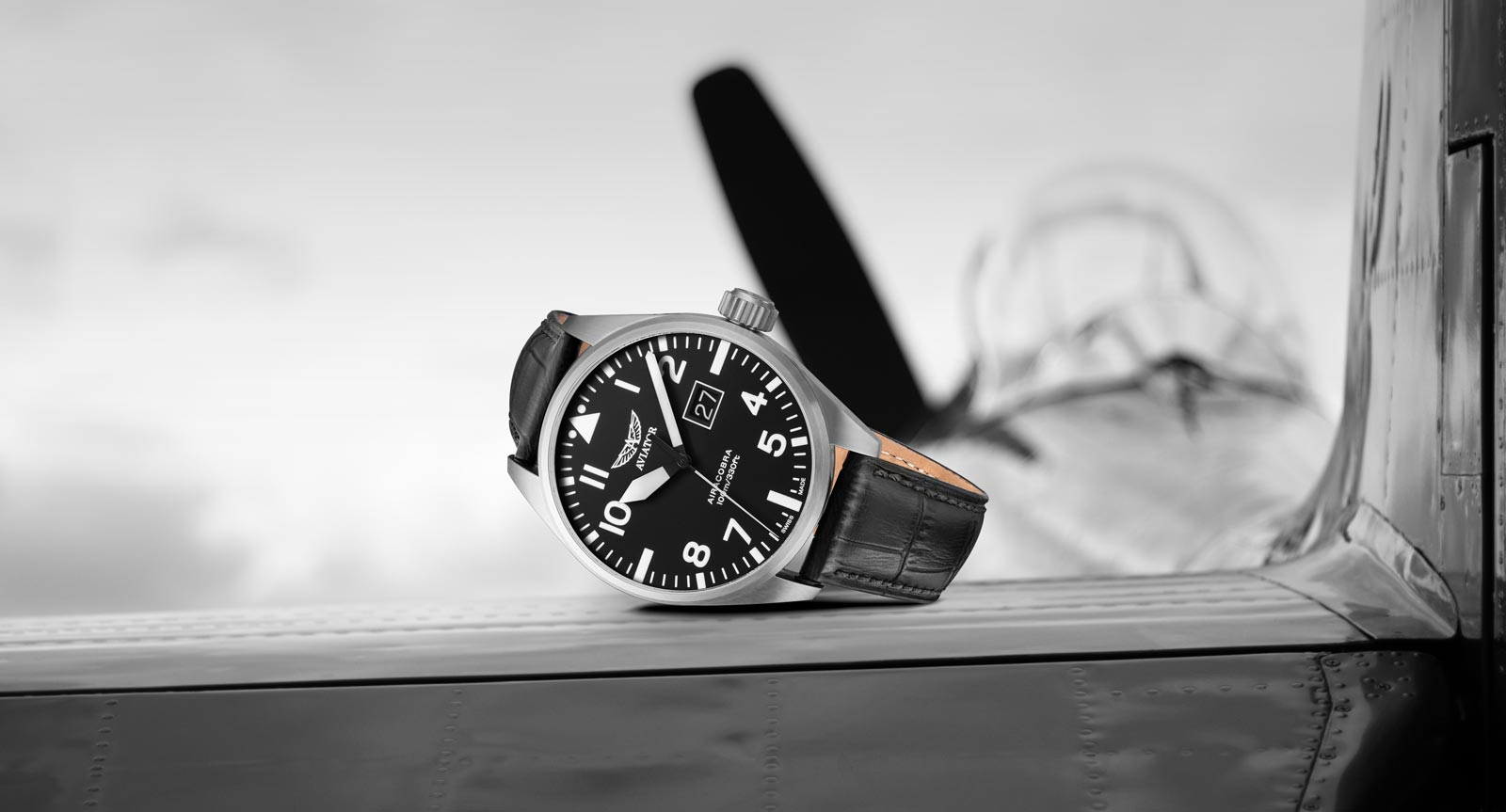 AVIATOR Watch Airacobra Collection of Pilot Watches