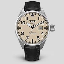 Airacobra P42 V.1.22.0.190.4 Pilot`s Watch by AVIATOR Watch Brand