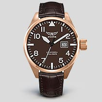 Airacobra P42 V.1.22.2.151.4 Pilot`s Watch by AVIATOR Watch Brand